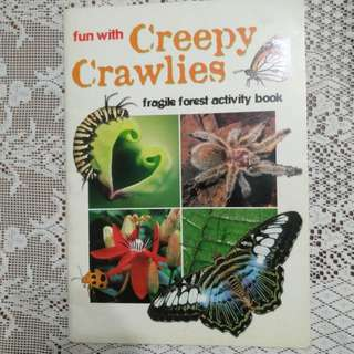 Fun with creepy crawlies fragile forest activity book