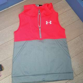 Brand New Under Armour vest, size Girls Large