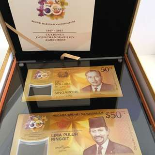 SG CIA50 Identical-numbered Notes Set