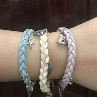 Woven bracelet set