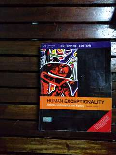 Human Exceptionality 11th Edition (Hardman, Drew, Egan) Psychology Book
