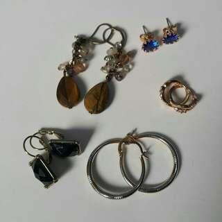 5 earrings for P300!!