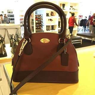 Coach mini Cora Bicolor