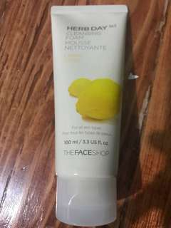 Herb Day 365 Cleansing Foam Lemon Citron
