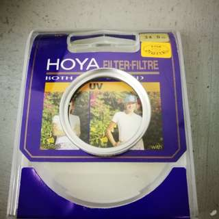 NEW old stock Hoya 34mm uv filter