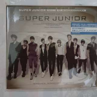 🚚 SUPER JUNIOR 4th Repackage Album 「BONAMANA美人啊」
