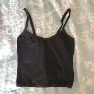 American Apparel Cropped Singlet Size XS