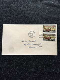US 1962 Winslow Homer Pair FDC Stamp