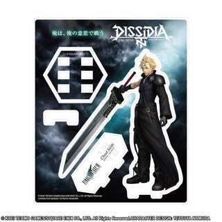 "[PO] ""Dissidia Final Fantasy"" Acrylic Stand Cloud Cloudi Wolf"