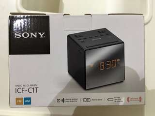 Sony Radio Clock