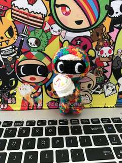 Crochet Tokidoki Ice Cream Bandit