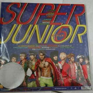 SUPER JUNIOR 5th Album「Mr.Simple」*含小卡!