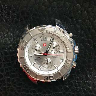 Swiss Military stainless steel Chrono sports quartz watch