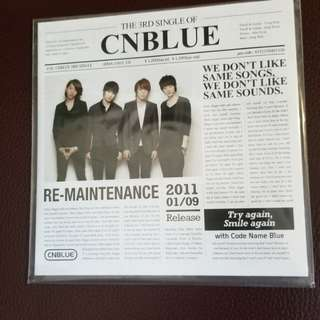 新CNBlue Re-Maintenance CD