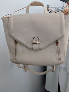Colette Cream Backpack