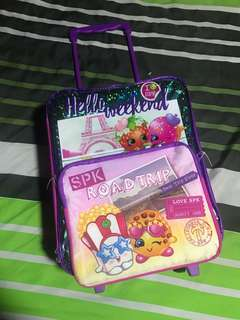 Shopkins trolley bag
