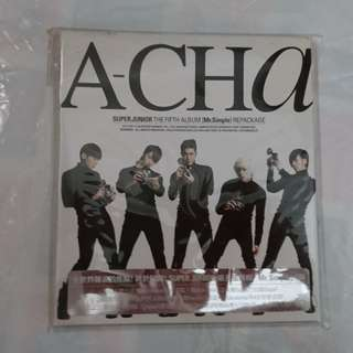 SUPER JUNIOR 5th repackage Album 「A-CHA」