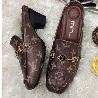 "KOREAN LOUIS VUITTON """"INSPIRED"""" HALF-SHOES .,'"