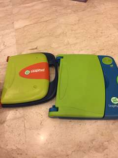Leapfrog leapPad reading system with books