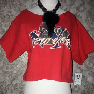 New York Red blouse Ld.95