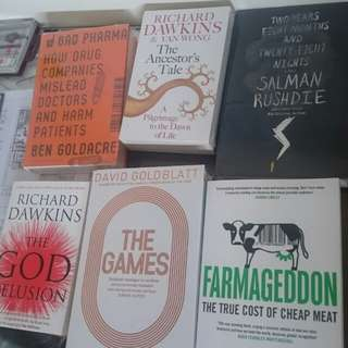 Paket 6 Buku Non Fiksi