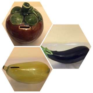 Fruits Coin Bank