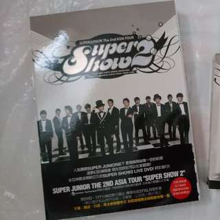 🚚 SUPER JUNIOR SUPER SHOW 2 + 海報