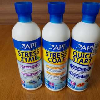 API QUICK START, STRESS ZYME, STRESS COAT 473ML