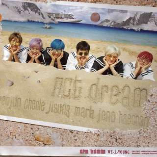 NCT DREAM We Young ~ Official Poster (in tube)