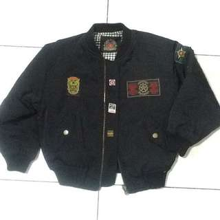 Cropped Bomber Jacket -Repriced. Free shipping and free tanktop