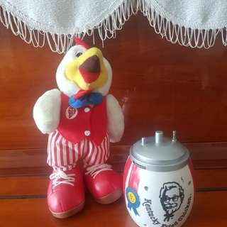 Vintage KFC collectables