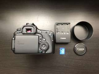 Canon 60D + lens 50mm f1.4