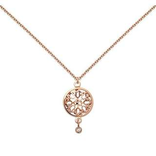(NEW)Hermes CHAINE DANCRE PASSERELLE HERMES PENDANT IN ROSE G 18K GOLD NECKLACE RGHW, ROSE GOLD 全新 頸鏈 金色