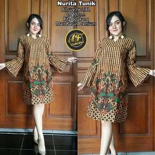 Dress Batik Tunik