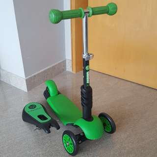 Y volution 3 in 1. Ride on/ kids scooter