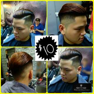 barber men's haircut mens grooming kid's haircut