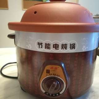 Purple Clay 紫砂 electric slow cooker
