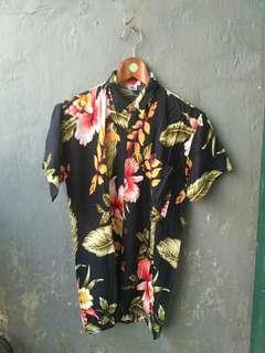 Floral shirt / baju pantai