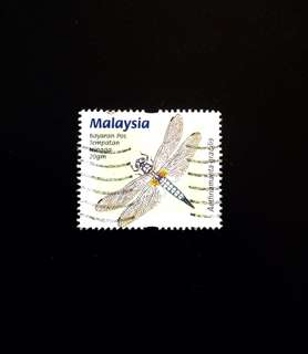 Malaysia 2000 Dragonflies and Damselflies 1V Used (0379)