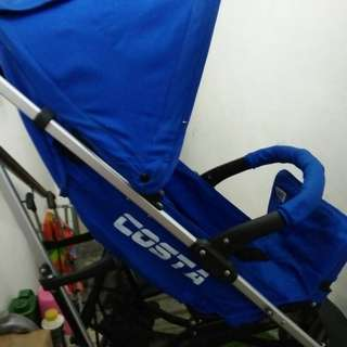 Sweet Cheery Costa Stroller (Blue)