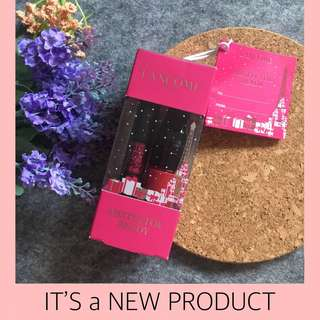 NEW ! Lancome Mistletor Ready Set Matte Shaker Liquid Lipstick & Monsieur Big Mascara