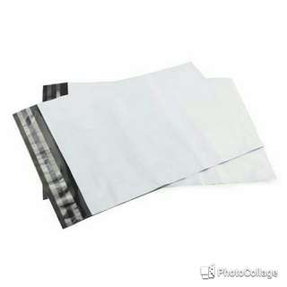7 White Polymailer Bags