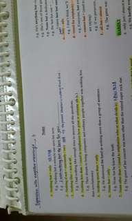 Dse 英文閱讀+寫作** 自編厚裝筆記 全套題型詳解