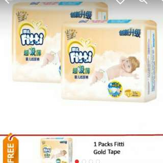 Fitti gold tape (3 packs)
