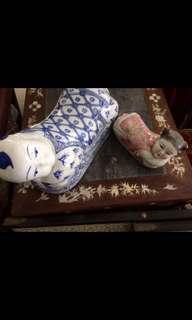 pillows porcelain