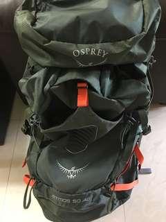 Osprey Atmos 50 露營 背包