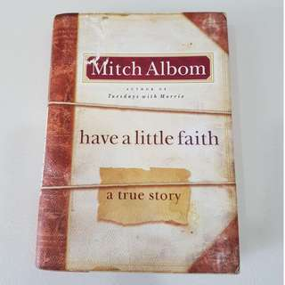 Mitch Albom - Have a Little Faith (hardback)