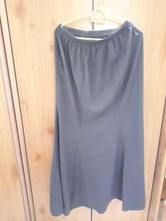 Baju kurung with lace