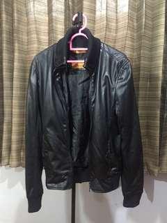 Jaket kulit ZARA murah (hnm bershka pull and bear)