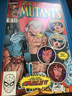The New Mutants 87. 1st print. Perfect condition